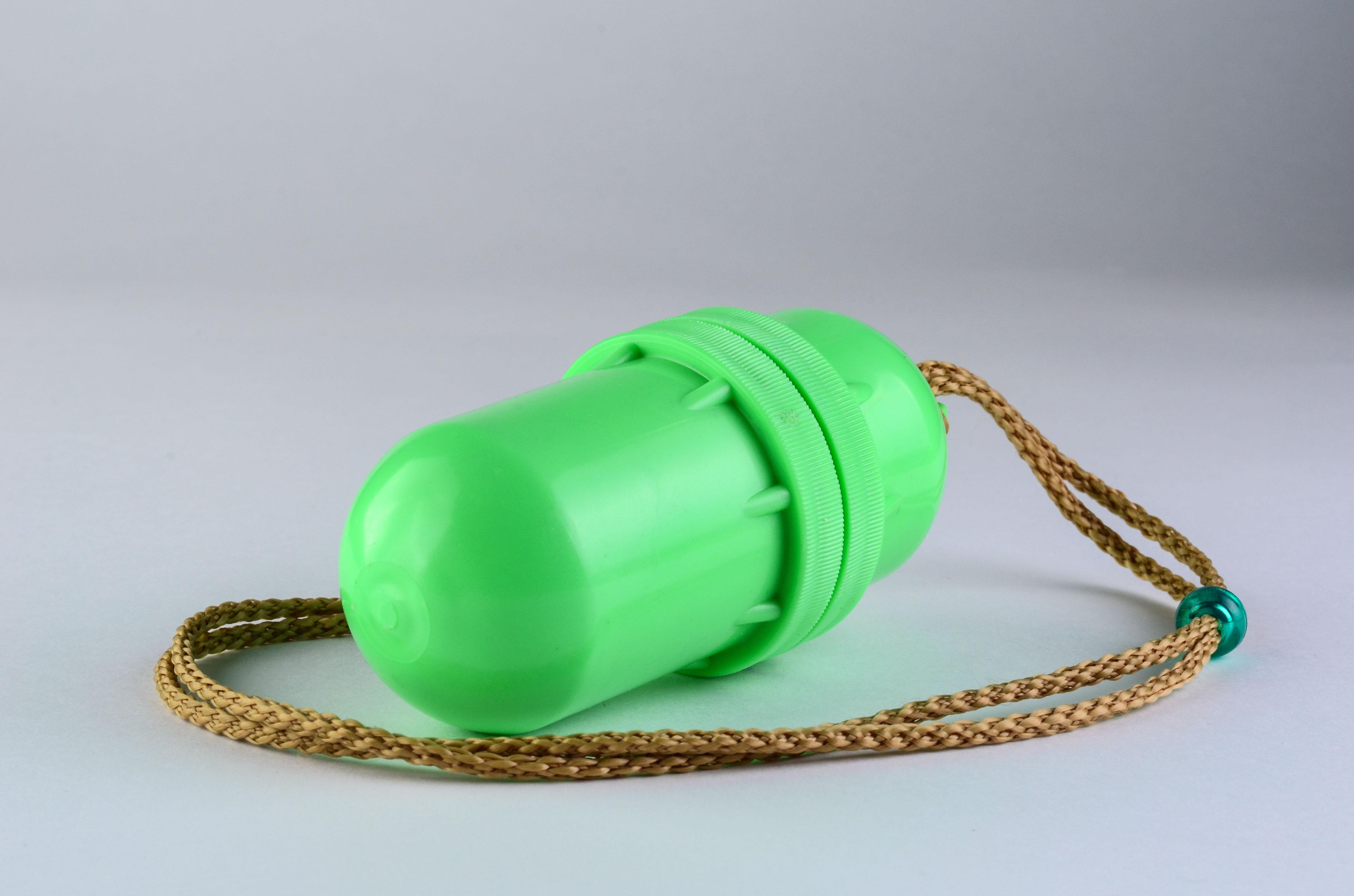 Тубус-кошелёк пластмассовый 5-0293 водонепроницаемый д 55мм дл. 130мм