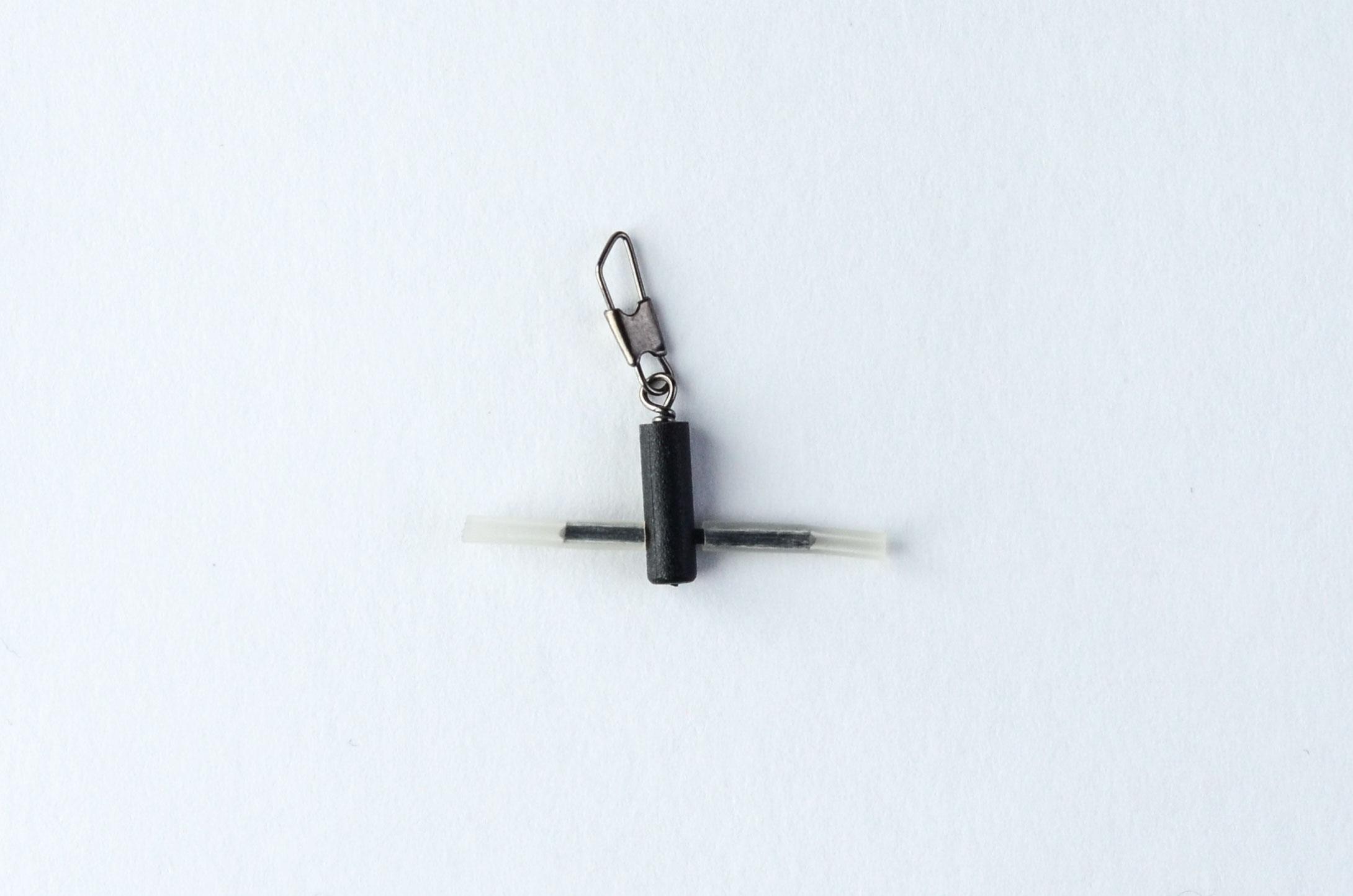 Застёжка для поплавка с вертлюжком для фиксированного крепления 10006 (уп.3шт)