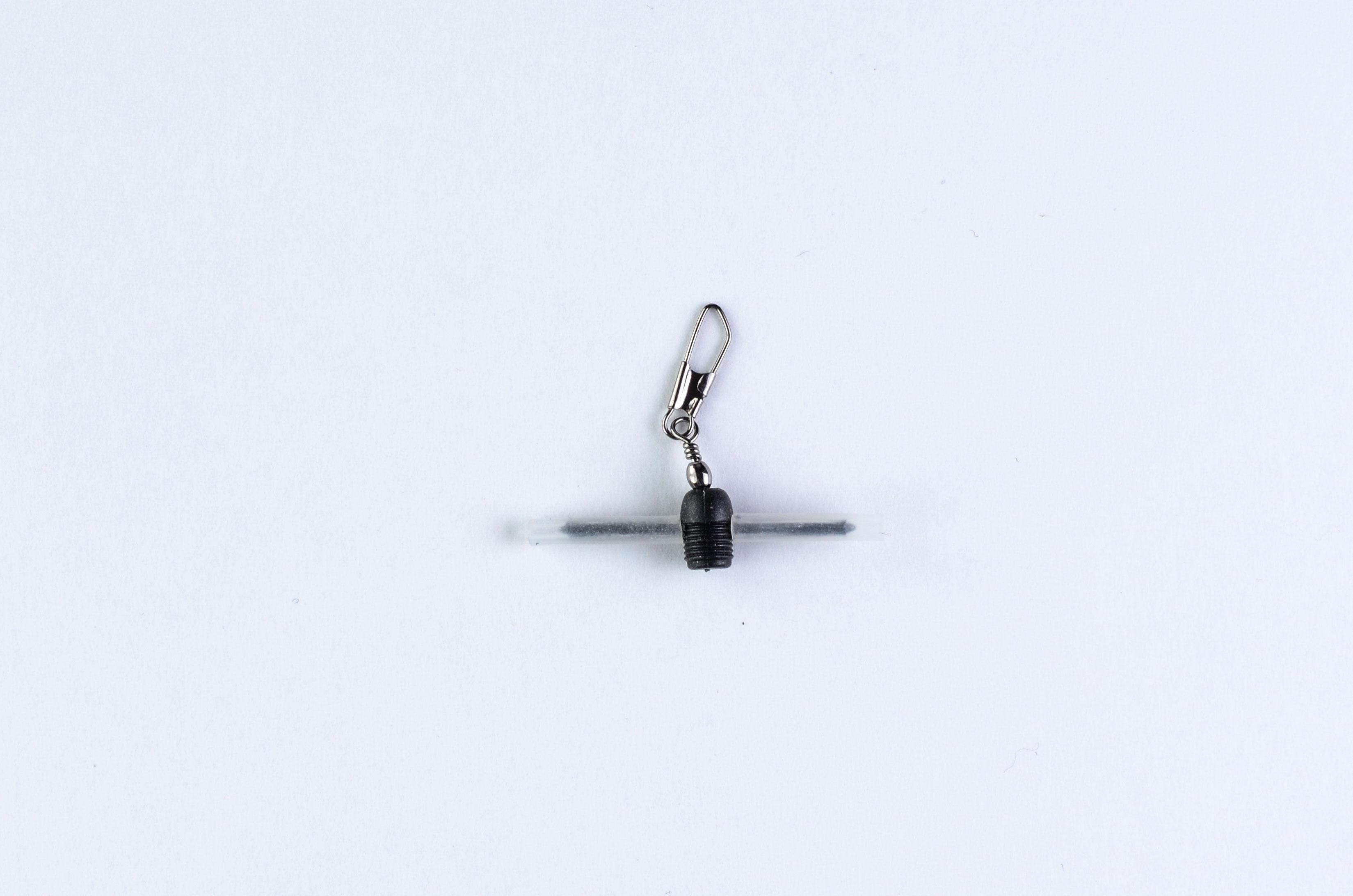 Застёжка для поплавка с вертлюжком для фиксированного крепления 10008 (уп. 3шт)