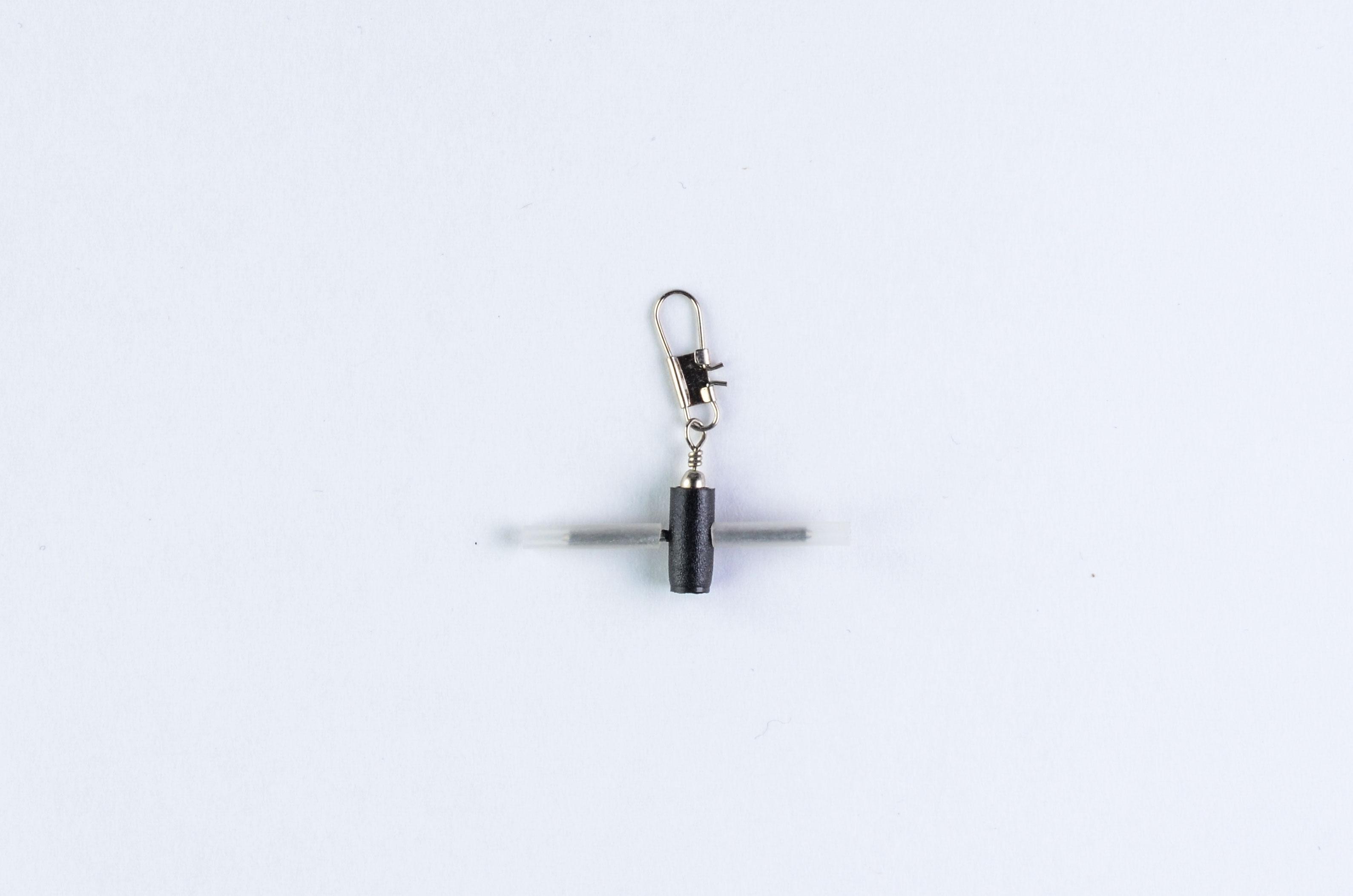 Застёжка для поплавка с вертлюжком для фиксированного крепления 10009 (уп. 3шт)