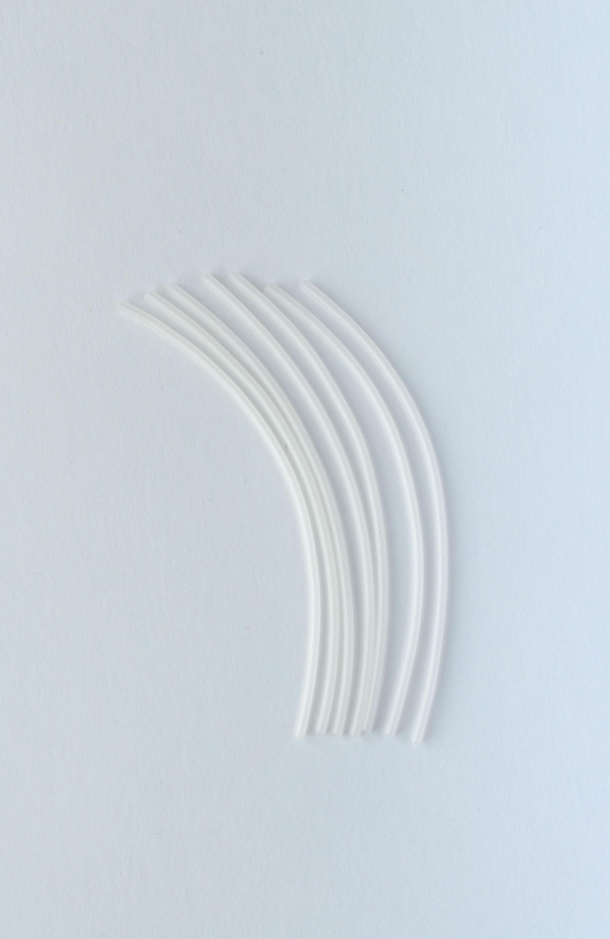 Кембрик силиконовый для поплавка 20010 д 1,6 мм (уп 50 см)